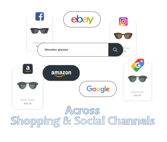 Social & Shopping Channels